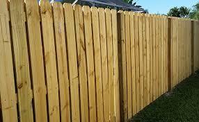 florida wood vertical shadow box wood fence building bulldog fence company of