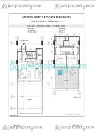 viceroy signature residences floor plans justproperty com
