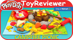 cuisine toys r us play doh cfire picnic playset toys r us exclusive unboxing