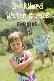 fun backyard water games home outdoor decoration