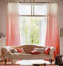 Ombre Sheer Curtains Diy Ombre Curtains Twotoned Take Ombre The Other Way Horizontal