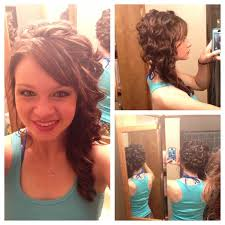 prom hairstyles side curls 8 best prom hair images on pinterest wedding hair styles bridal