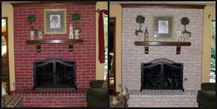 fireplace decorating complete brick fireplace makeover before my