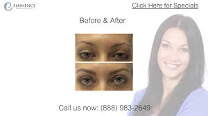 permanent makeup tattooed eyebrows before and after photos in