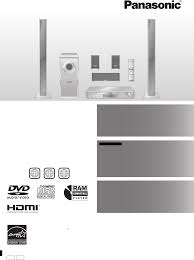 panasonic home theater manual panasonic home theater system sc ht940 user guide manualsonline com