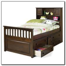 inspirational twin bed with drawers and bookcase headboard 68 on