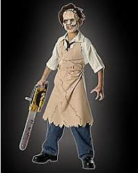 leatherface costume leatherface costume chainsaw spencer s