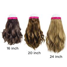 16 Inches Hair Extensions by Adorna 16 24 Inch Full Hat Hair Extension Made With Premium