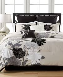 Macy S Comforter Sets On Sale Midnight Flowers 8 Pc Comforter Sets Created For Macy U0027s Bed In