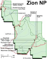 map of zion national park he goes around the bend zion redux 2 of 3