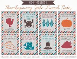 free printable thanksgiving joke lunch notes thanksgiving