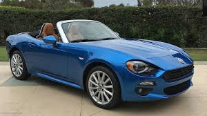 fiat spider vs miata the fiat 124 spider is wildly different than it u0027s miata sibling