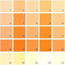 shades of orange names shades of orange riffcreative co