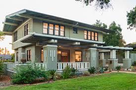 remodeled by hgtv designers this prairie style craftsman in