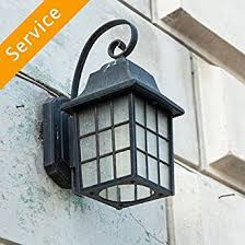 exterior light fixture installation commercial first time 10