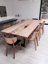 Reclaimed Timber Dining Table Recycled Timber Table Blueprint Furniture 472 Bridge Road Richmond