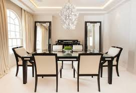 Black Lacquer Dining Room Furniture Lalique Black Lacquer Dining Room Table With Raisins Crystal Panel