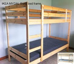 Ikea Bunk Bed Frame Ikea Mydal Bunk Bed Frame Second Bunk Bed Frame Flickr