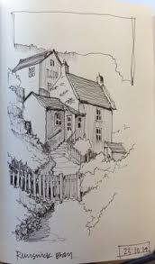 sketches in willesden cemetery in willesden england 1890 j