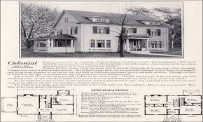 Dutch Colonial House Plans Vintage Colonial Revival House Plans