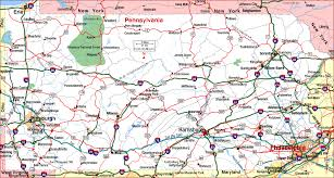 map of pa road map of pennsylvania pennsylvania aaccessmaps