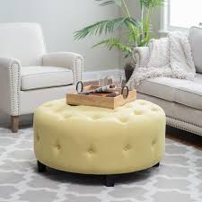 Square Leather Ottoman With Storage by Coffee Table Wonderful Round Ottoman Coffee Table Round Storage
