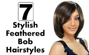 feathered bob hairstyles 2015 7 stylish feathered bob hairstyles style presso