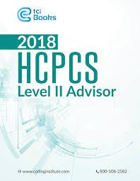 hcpcs level ii advisor 2018