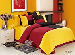 red black and yellow bedroom decor khabars net