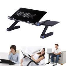 Lap Desk With Fan Laptop Tray Ebay