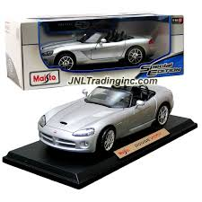 Dodge Viper Colors - maisto special edition series 1 18 scale die cast car silver
