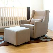 exciting interior design using glider rockers for baby nursery