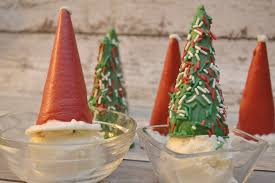 candy coated christmas trees u0026 santa hats ice cream toppers