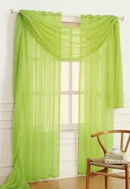 amazon com dainty home solid sheer voile window panel 56 by 84