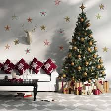 Simple Elegant Christmas Decor by Living Room Elegant Christmas Country Living Room Decor Ideas
