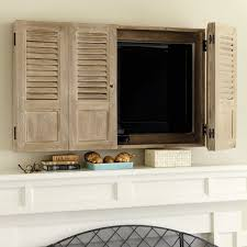 Tv Wall Cabinet by Pottery Barn Mirror Wall Mount Media Solution Vanity Decoration