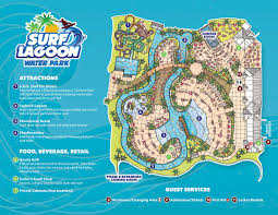 Georgia River Map Park Map Surf Lagoon Pooler Water Park Located In Savannah