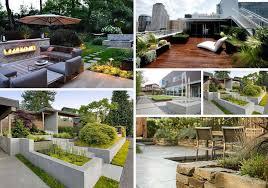 Modern Front Garden Design Ideas Garden For Landscaping Home Small Contemporary Spaces Plants