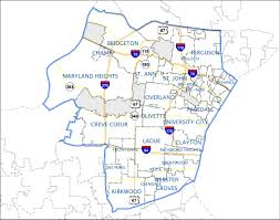 Map Of Missouri Cities Welcome To The Central County 2nd Precinct Police Department Page