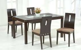 Glass Topped Dining Room Tables Glass Topped Dining Room Tables Stunning Top Glass Top Wooden