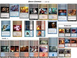 Magic The Gathering Sliver Deck Standard by Standard Grixis Control The Tabletop Vector
