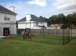 45 ft batting cage kit and netting do it yourself and save