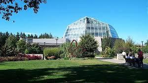 Botanical Gardens Niagara Falls Butterfly Conservatory In Niagara Falls Ontario
