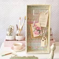 Chic Desk Accessories by Shabby Chic Desk Décor Part 1 Memo Board Stampington U0026 Company