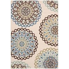 5x7 Outdoor Area Rugs Safavieh Veranda Axum Geometric Indoor Outdoor Area Rug Or Runner