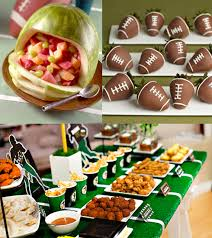 party ideas be different act normal football party ideas bowl