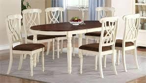 oval table and chairs white kitchen table set thrillion info