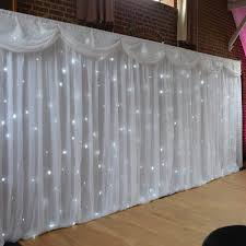 wedding backdrop hire london fairylight led backdrop 6mx3m hertfordshire events