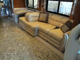 Comfy Sleeper Sofa Used Rv Furniture Used Furniture For Sale Travel Trailer Dinette