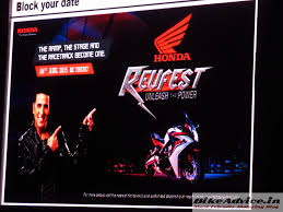 honda cbr details cbr 650f launch date on aug 4 honda u0027s revfest more models coming